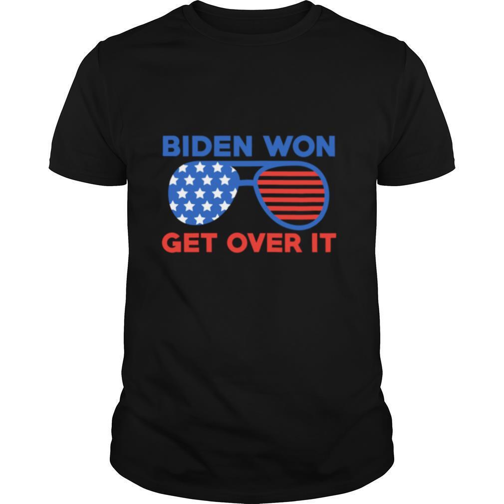 Biden Won Get Over It Joe Biden Kamala Harris shirt Classic Men's