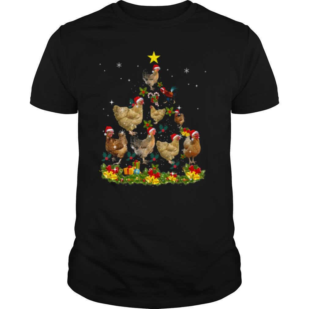 Chickens Tree Christmas shirt Classic Men's