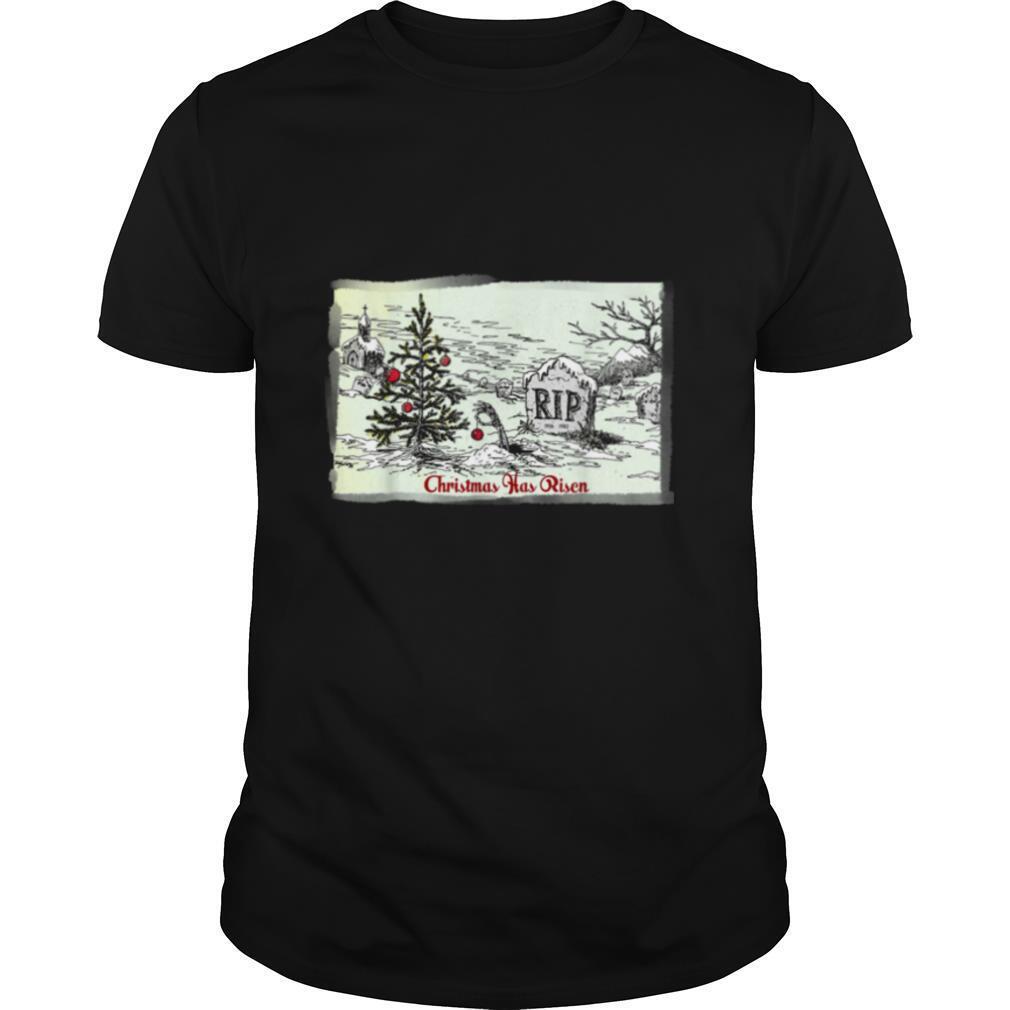 Christmas Has Risen Christmas Card shirt Classic Men's