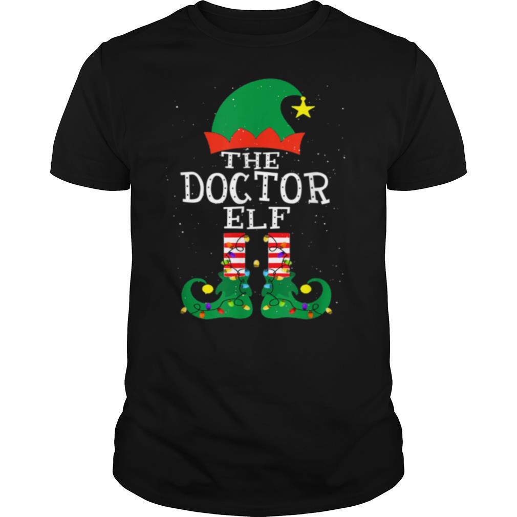 Doctor Elf Matching Family Group Christmas shirt Classic Men's
