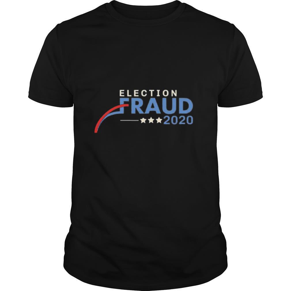 Fraud 2020 Trump Biden Election Results Voter Fraud shirt Classic Men's