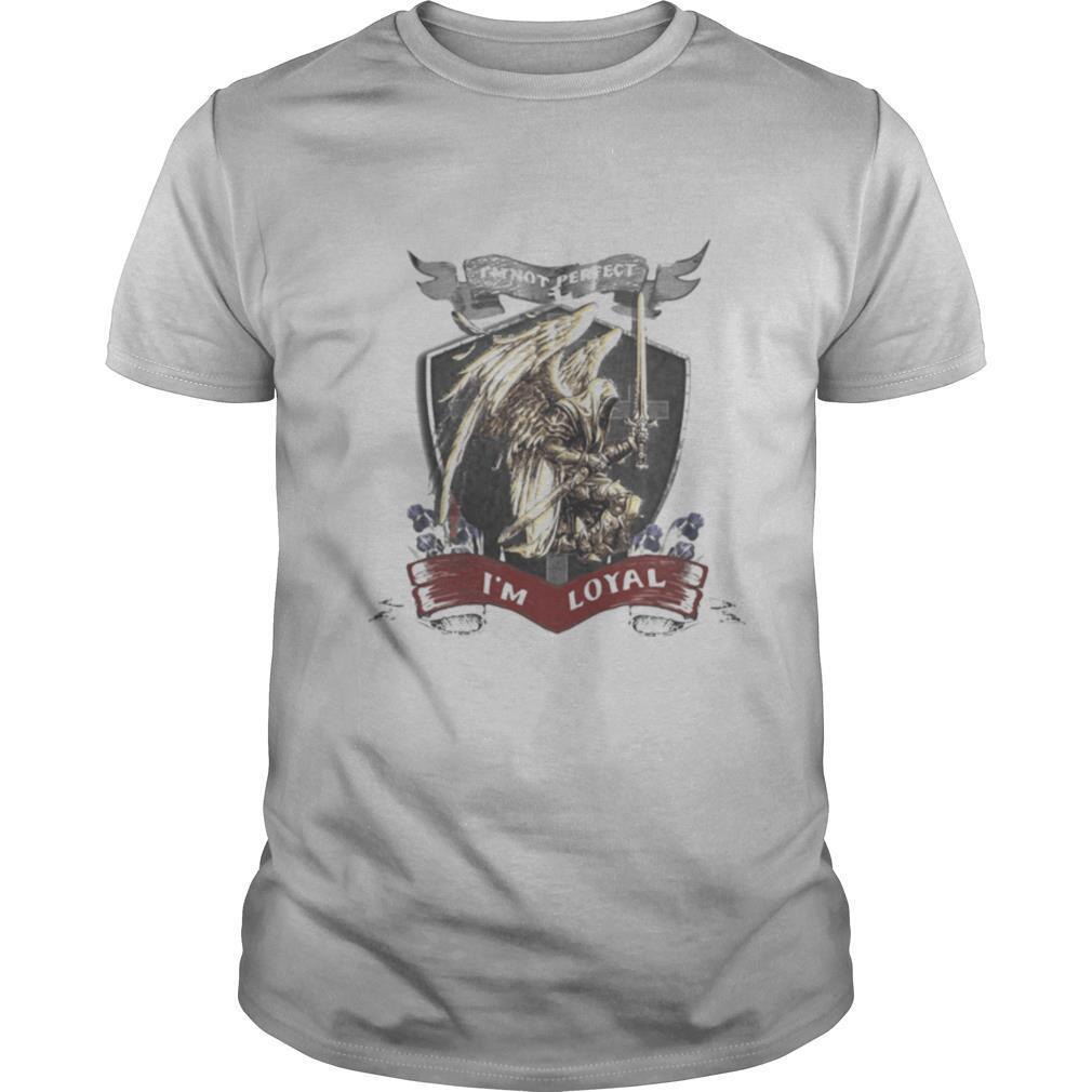I'm not perfect i'm loyal vikings shirt Classic Men's