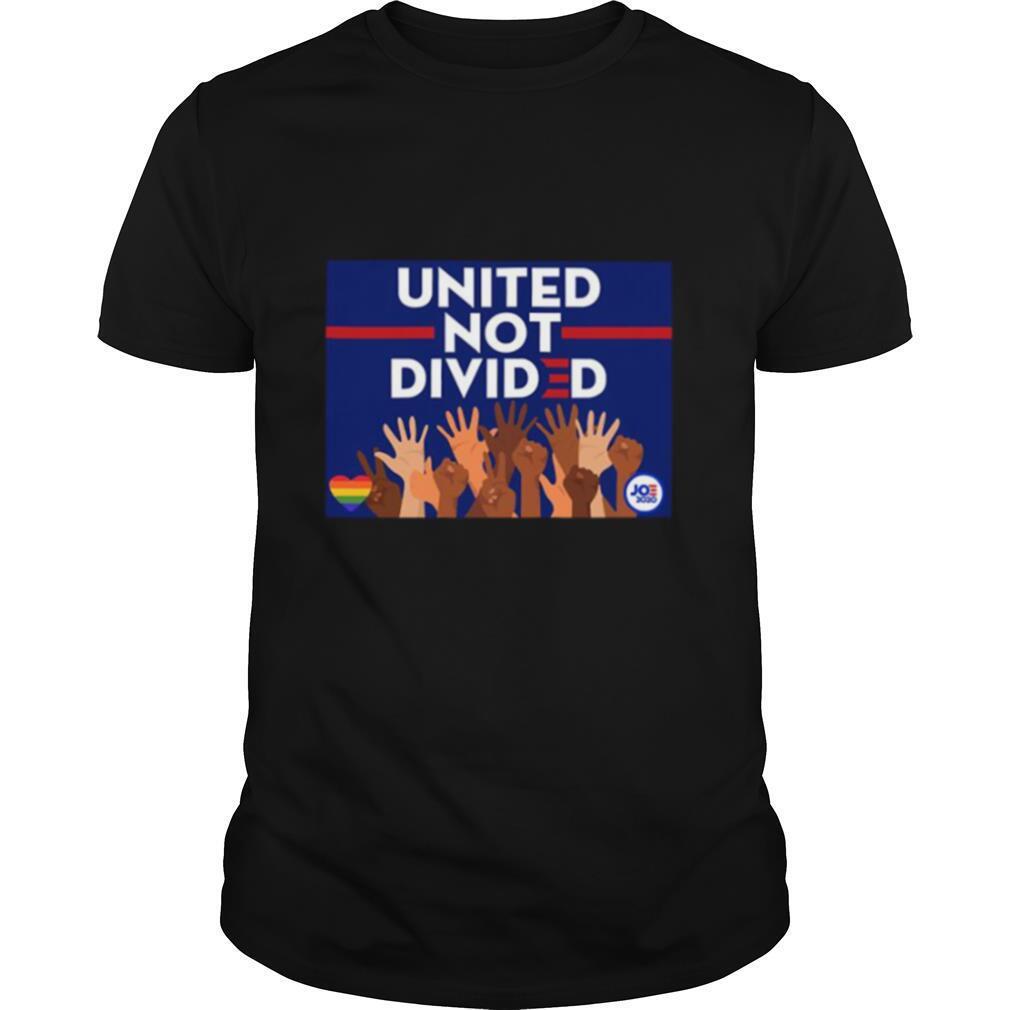 United Not Divided Joe Biden 2020 shirt Classic Men's