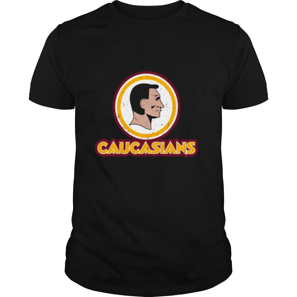 Washington Caucasians Redskins shirt Classic Men's