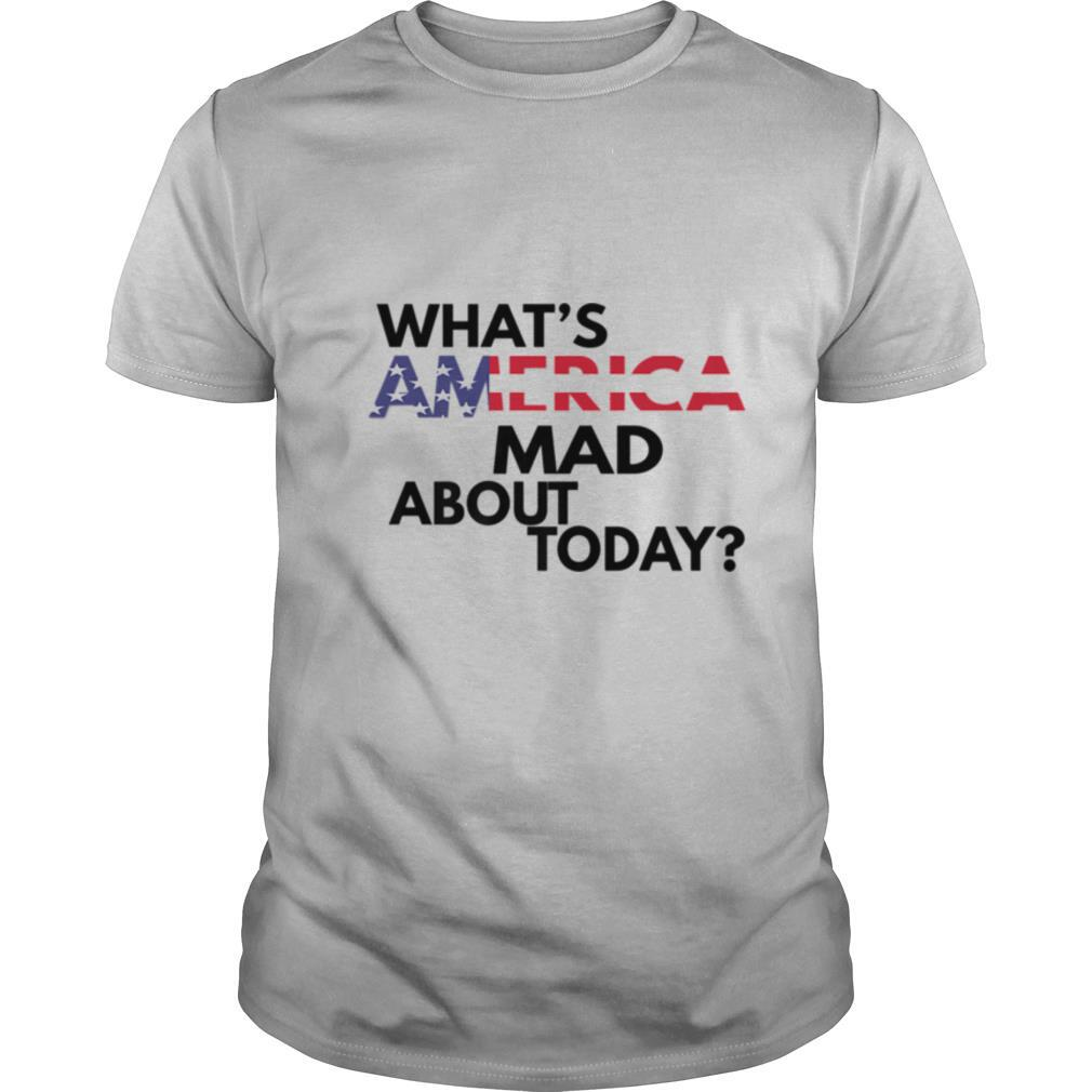 WHATS AMERICA MAD ABOUT TODAY shirt Classic Men's