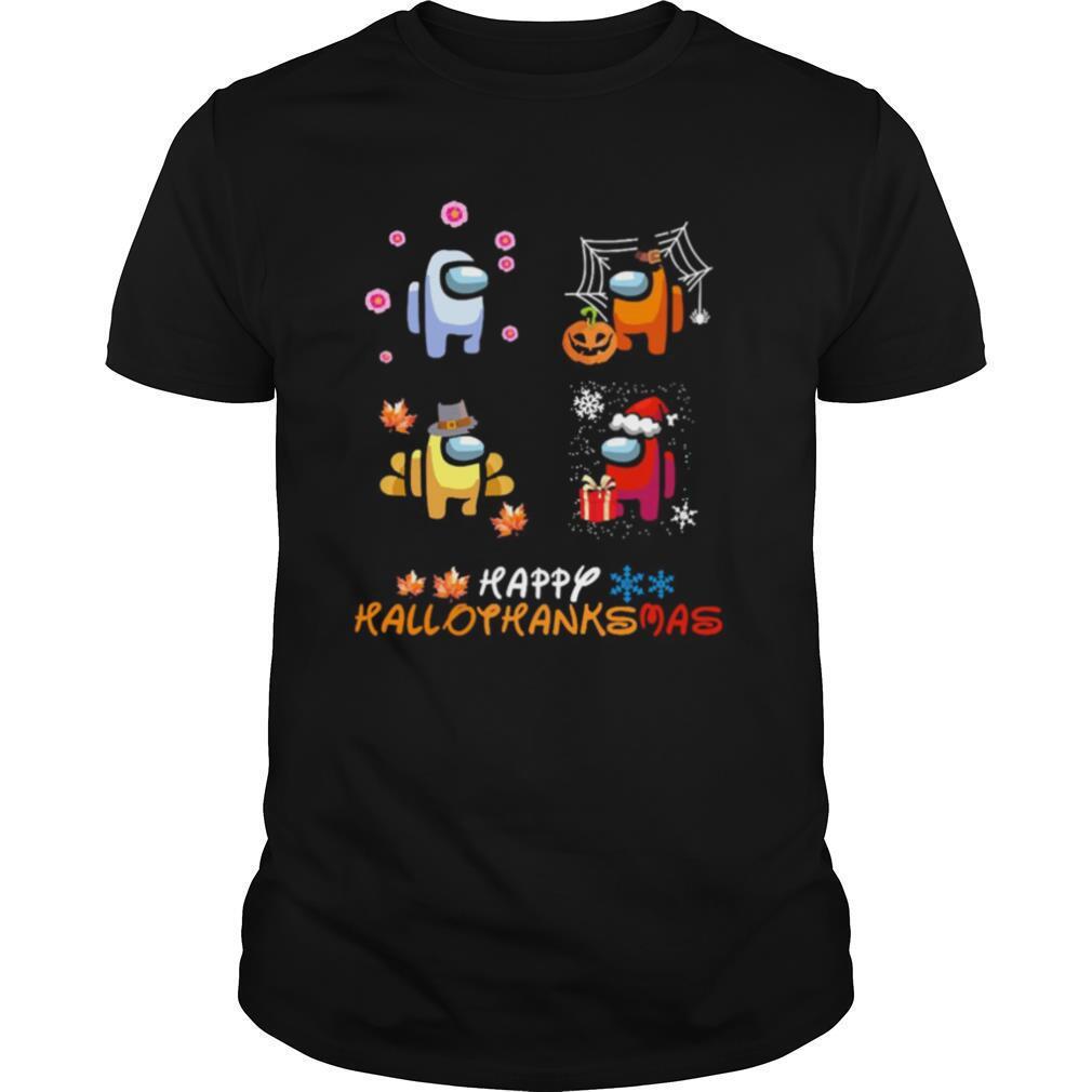 Among Us Happy Hallothanksmas shirt Classic Men's