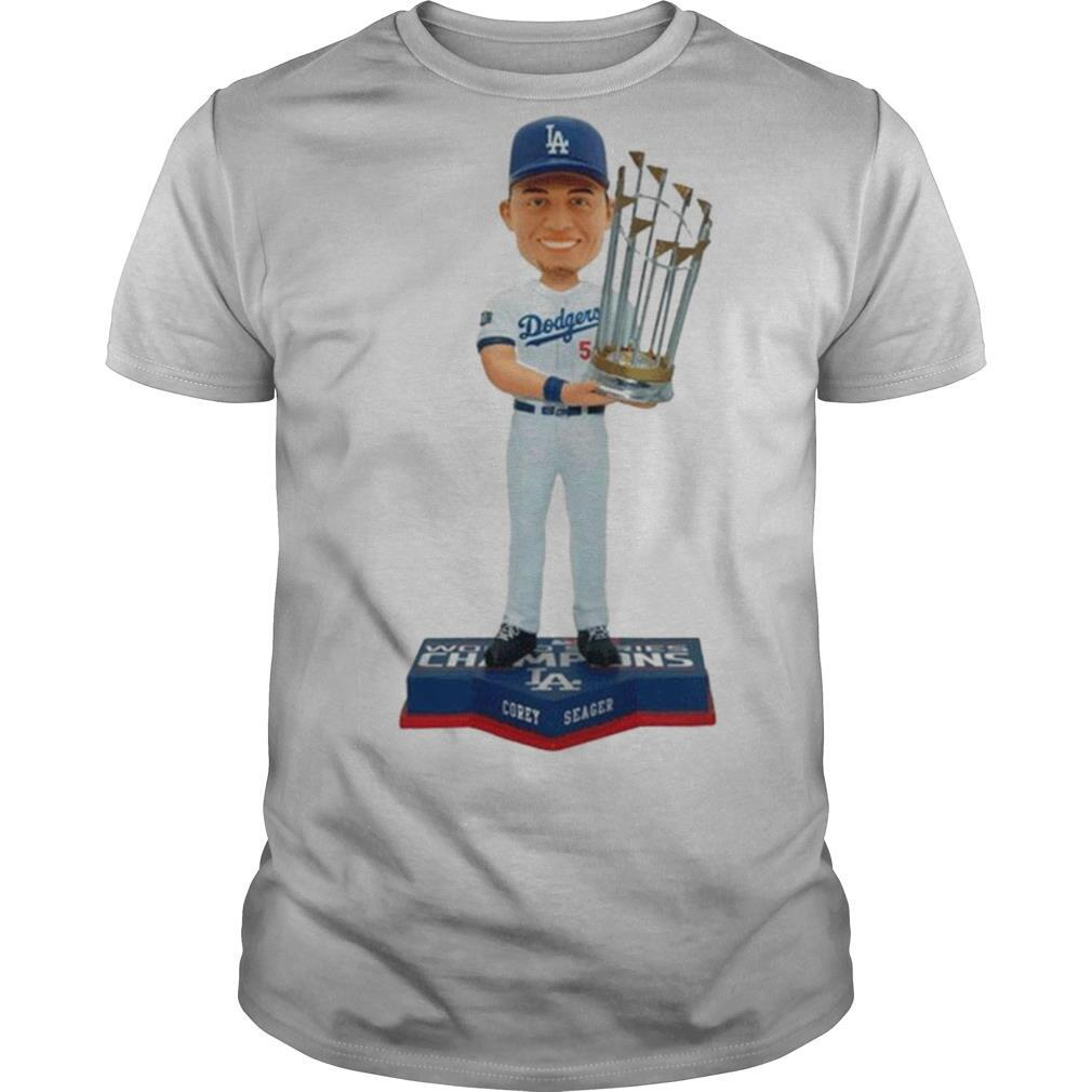 Corey Seager Los Angeles Dodgers 2020 World Series Champions Official shirt Classic Men's
