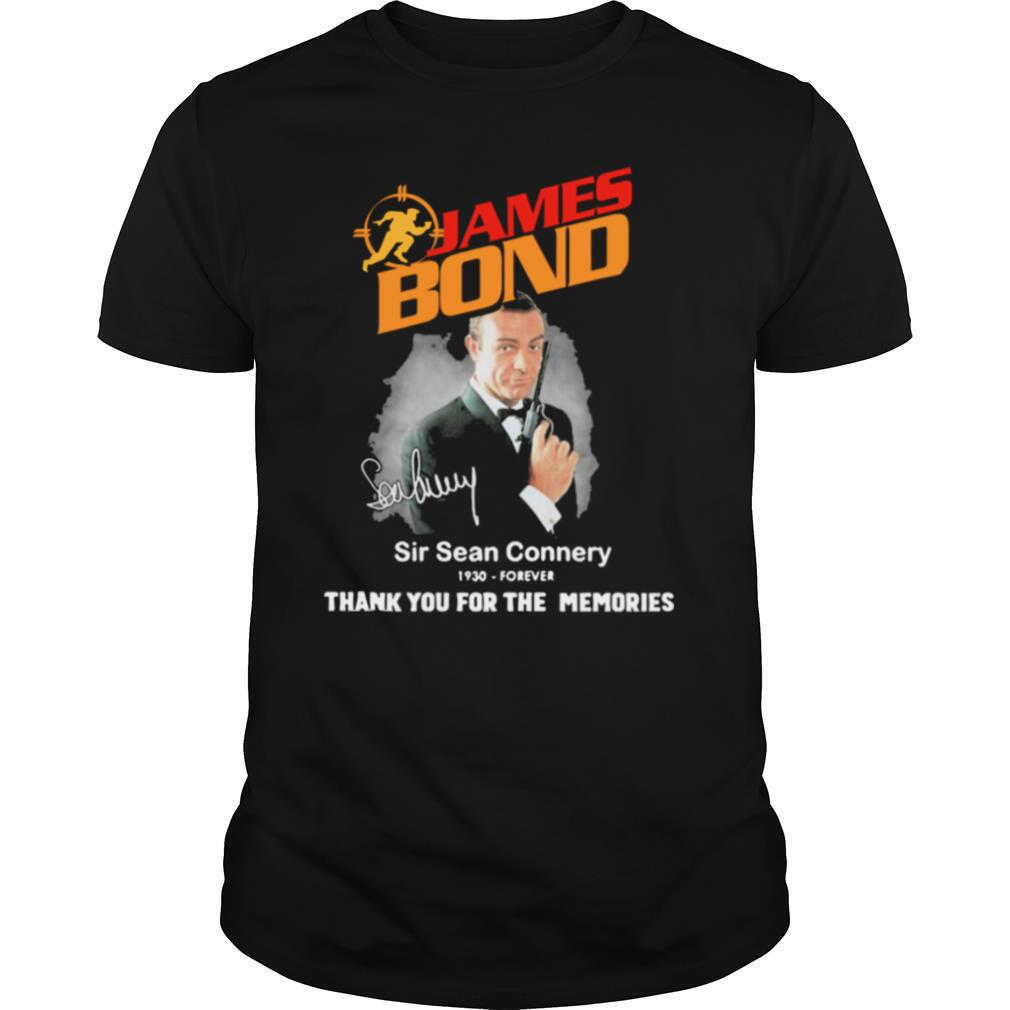 James Bond Sir Sean Connery 1930 Forever Thank You For The Memories shirt Classic Men's