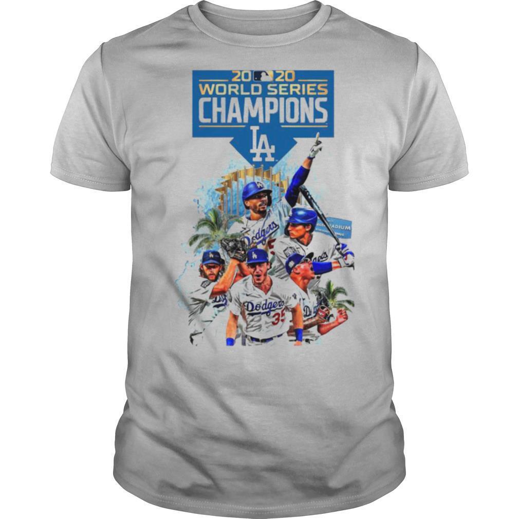 Los Angeles Dodgers 2020 World Series Champions Player Legend shirt Classic Men's