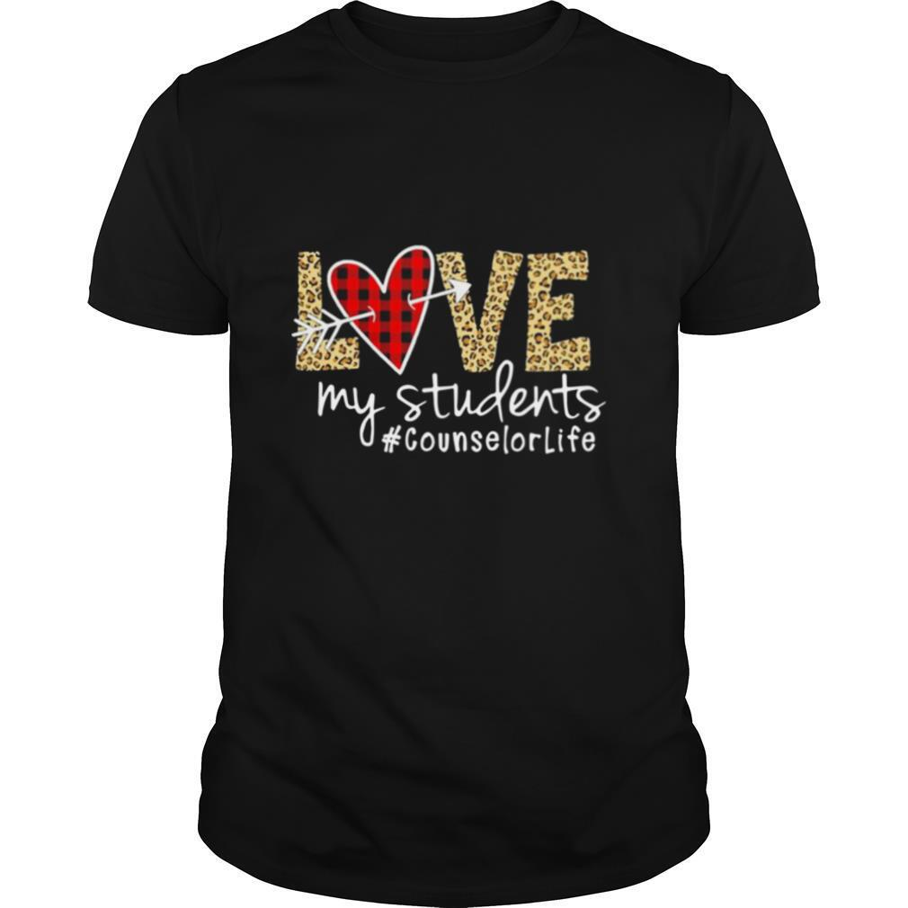 Love My Students Counselorlife shirt Classic Men's