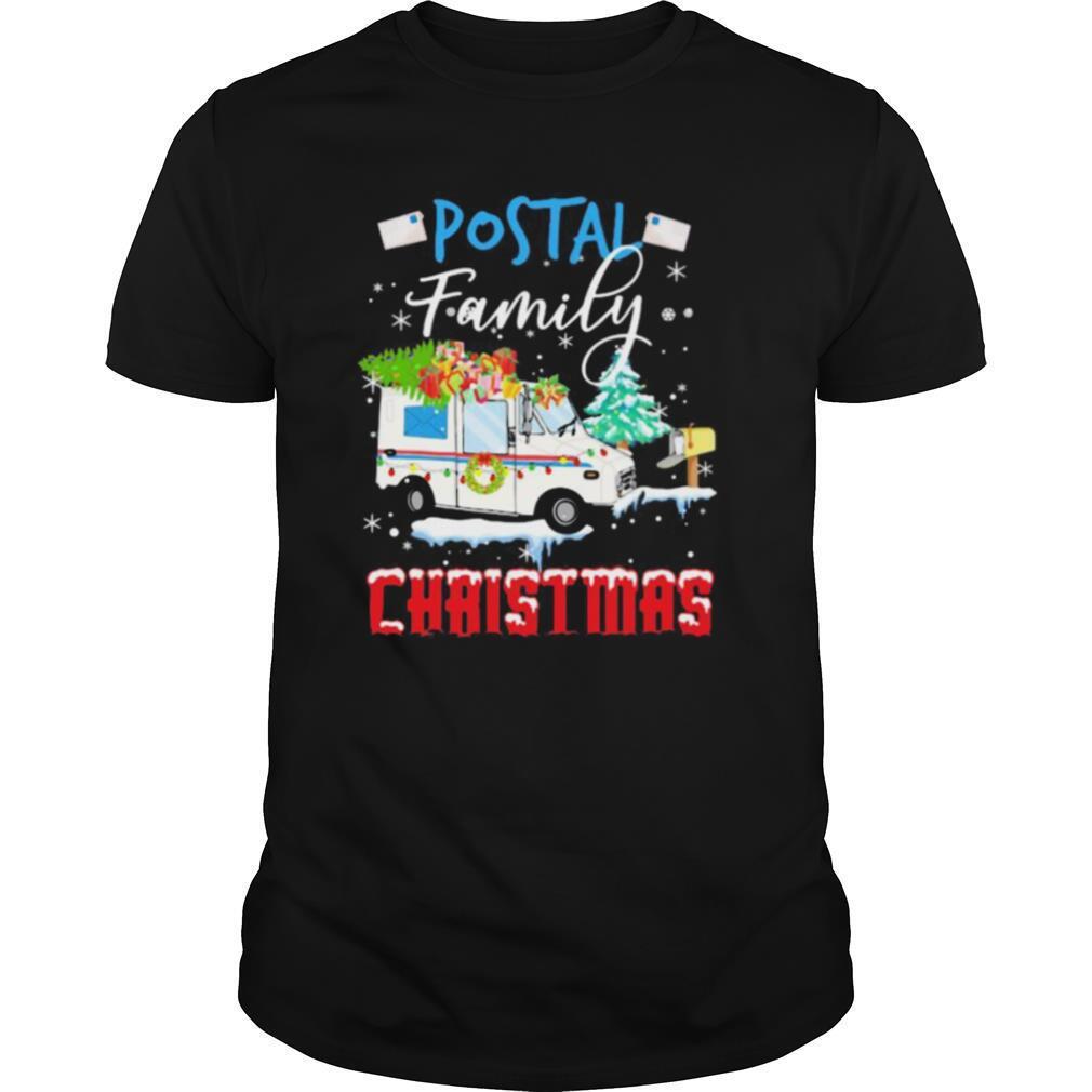 Postal family christmas shirt Classic Men's