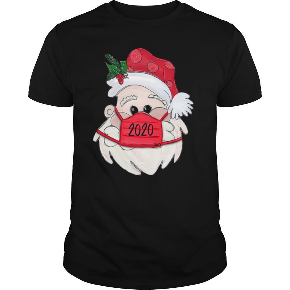 Satan Claus Face Mask 2020 Merry Christmas shirt Classic Men's