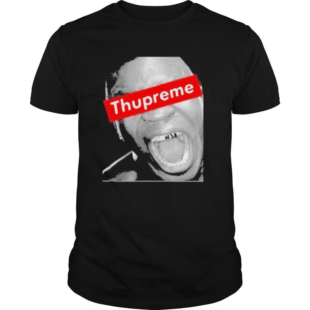 Thupreme box supreme logo shirt Classic Men's