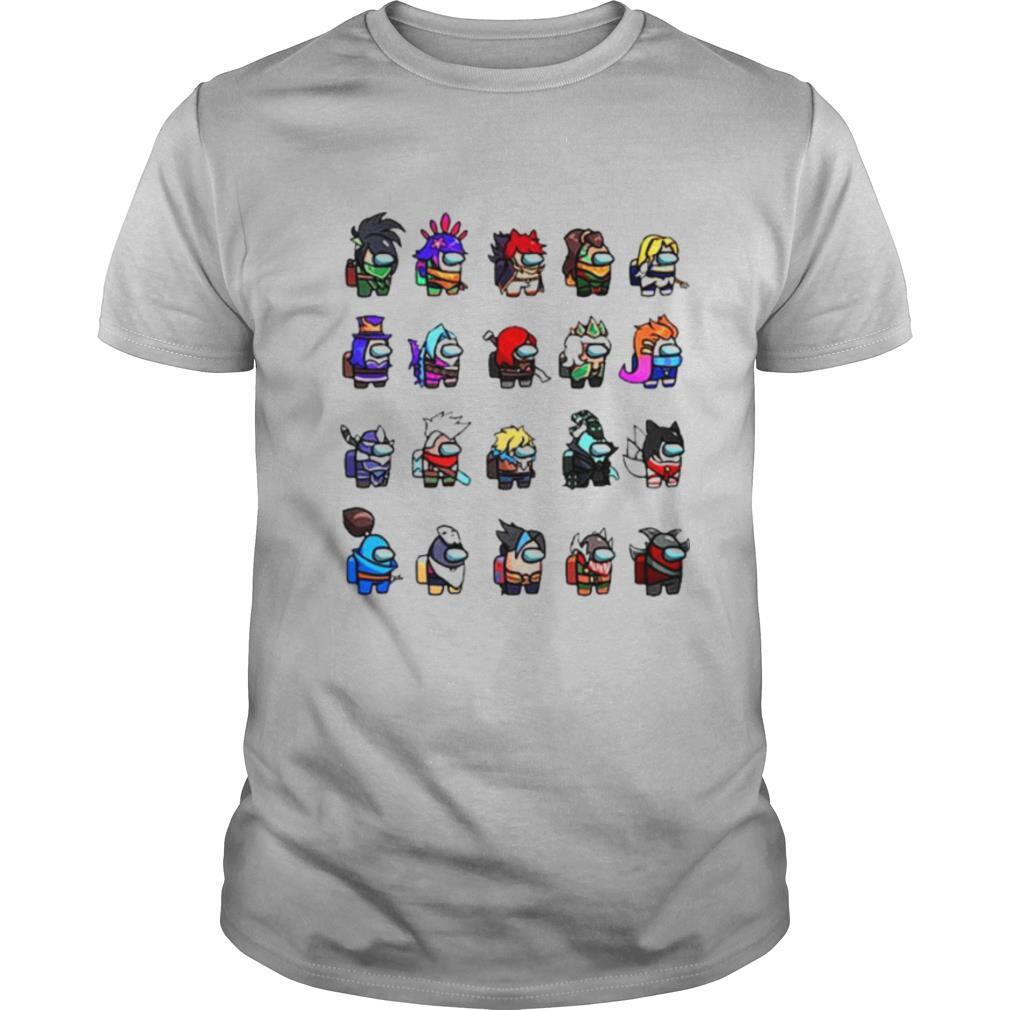 Among Us X League Of Legends Games shirt Classic Men's