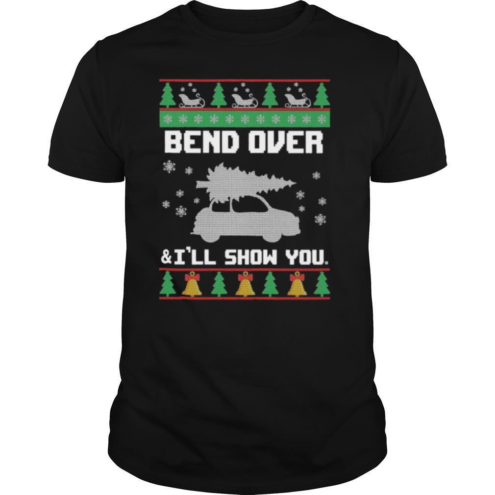 Bend Over And I'll Show You Christmas shirt Classic Men's