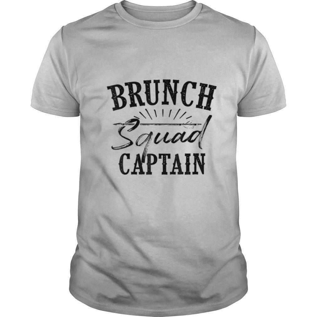 Brunch Squad Captain Love Team Late Meals shirt Classic Men's