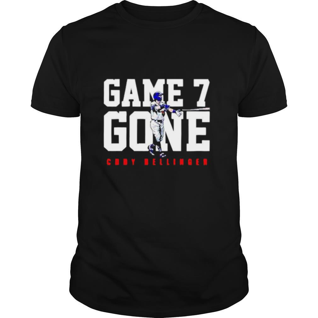 Cody Bellinger Los Angeles Dodgers Game 7th Gone shirt Classic Men's