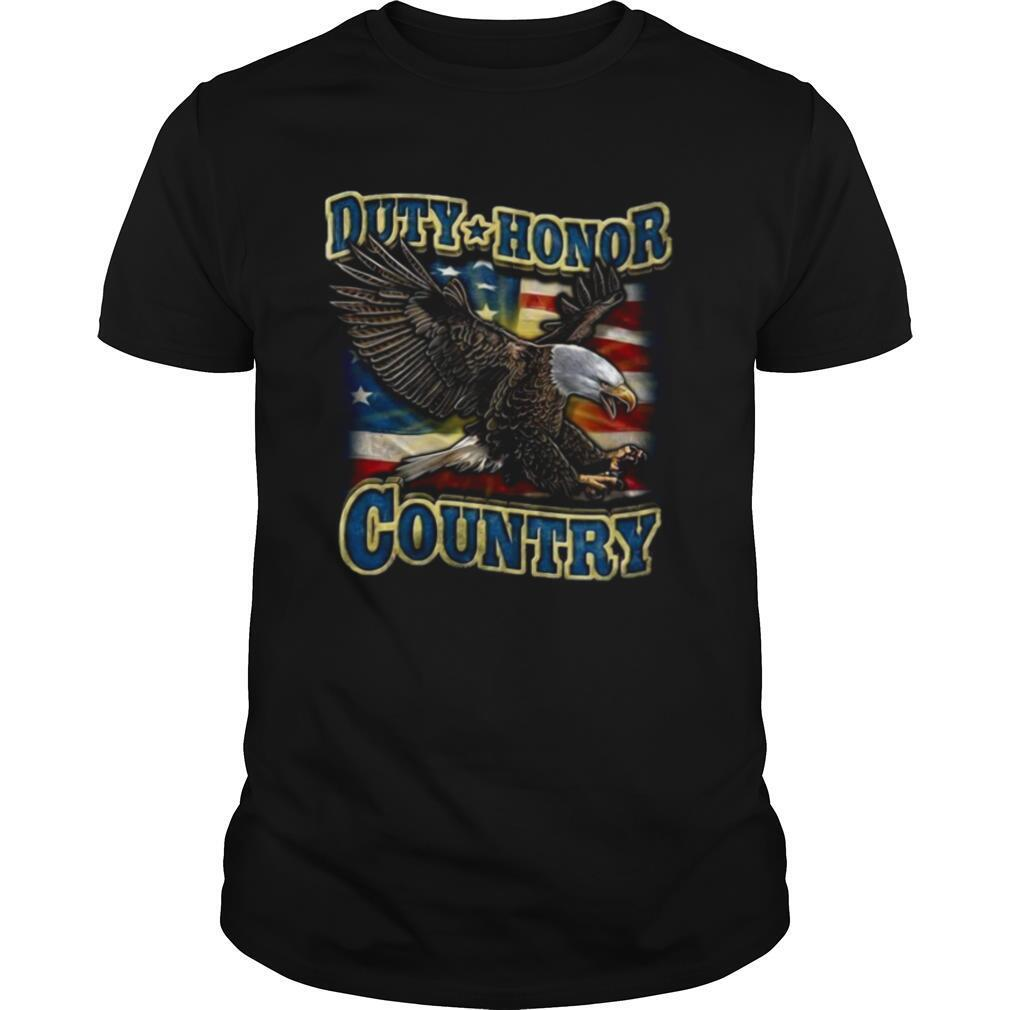 Eagle Duty Honor Country US shirt Classic Men's