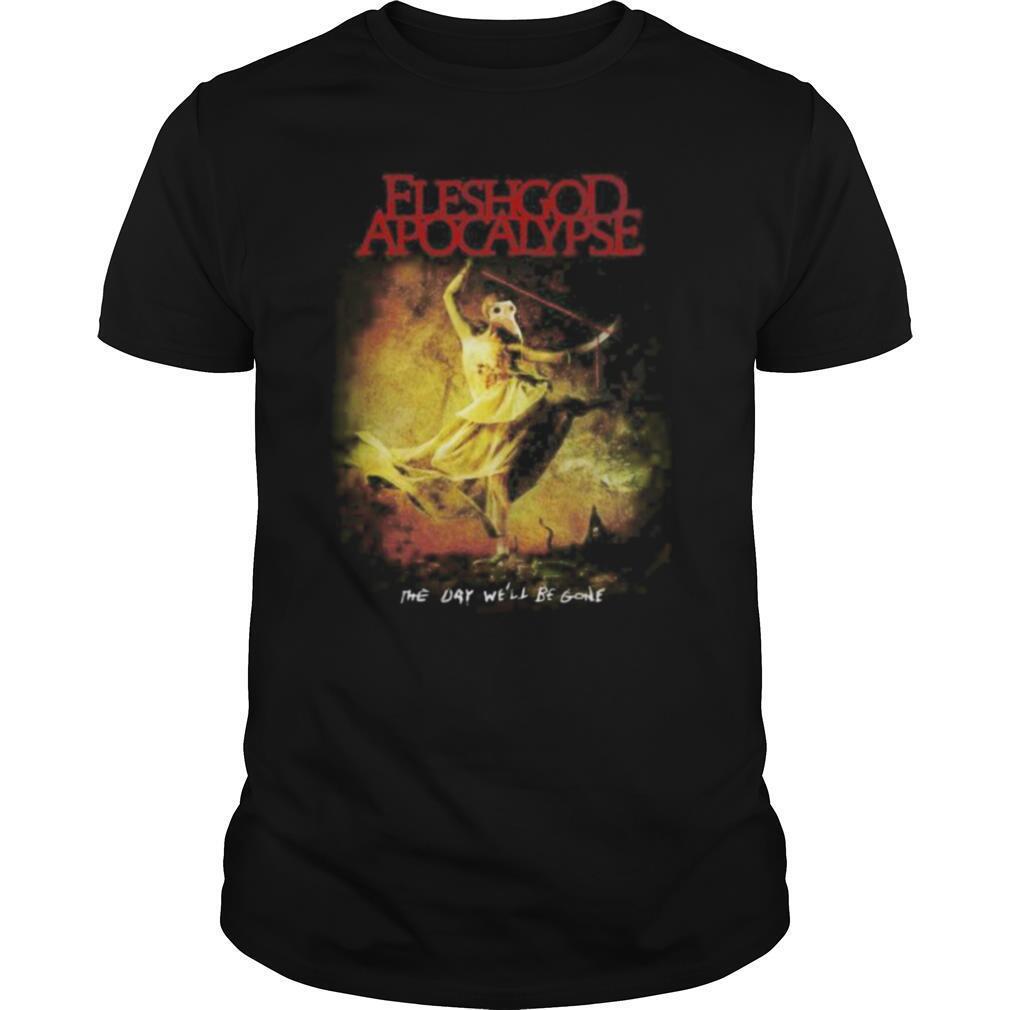 Fleshgod apocalypse the day we'll be gone vintage shirt Classic Men's