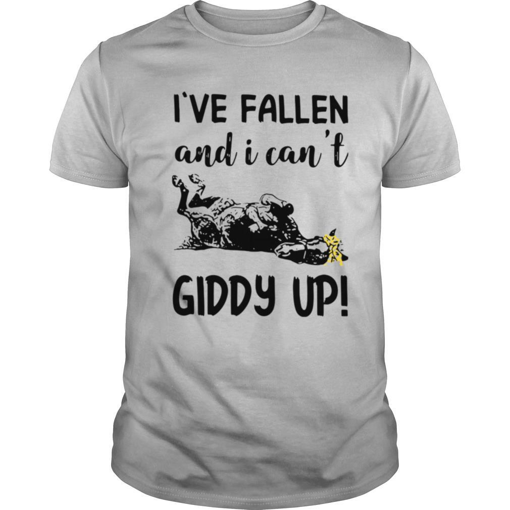 Horse I've Fallen And I Can't Giddy Up shirt Classic Men's