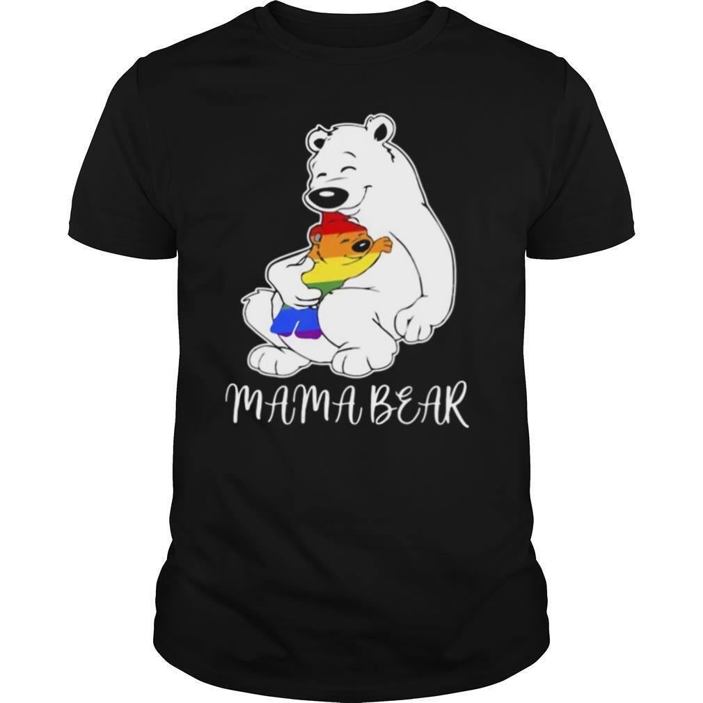 Lgbt pride mama bear shirt Classic Men's