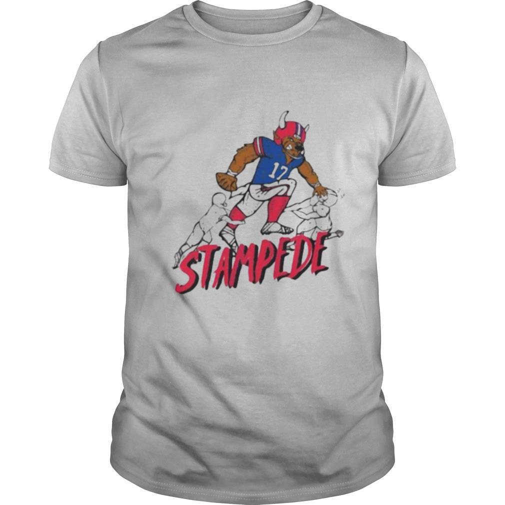 Stampede 17 buffalo bills football shirt Classic Men's