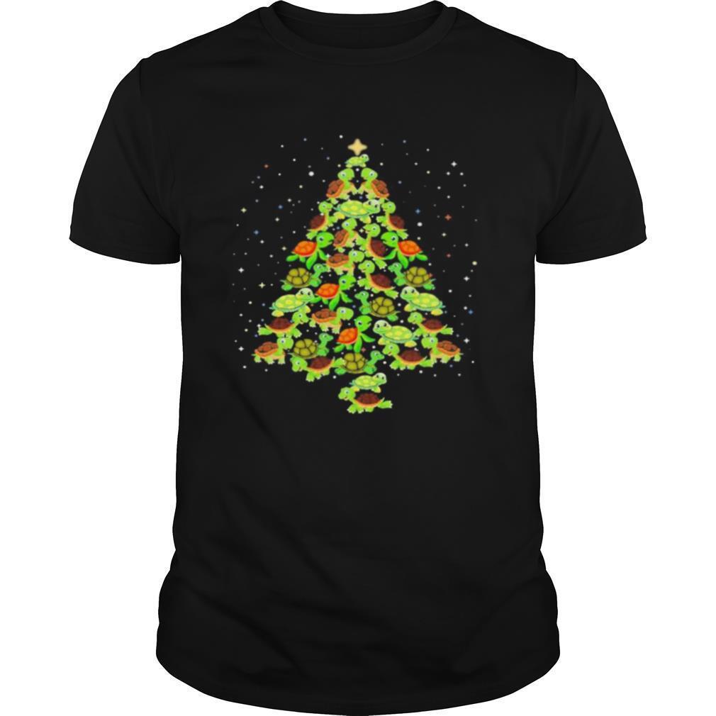 Turtles Ugly Christmas tree shirt Classic Men's