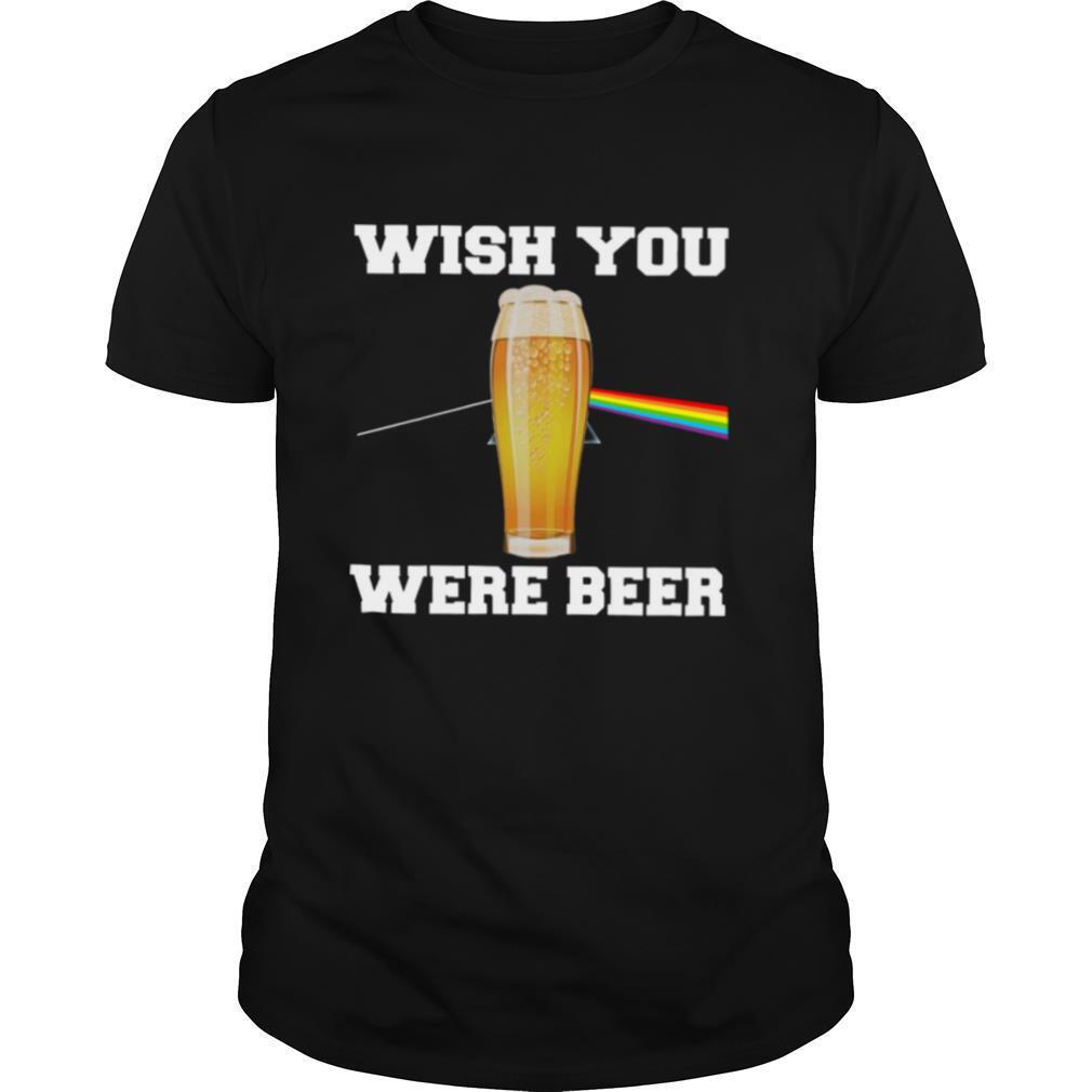 Wish You Were Beer shirt Classic Men's