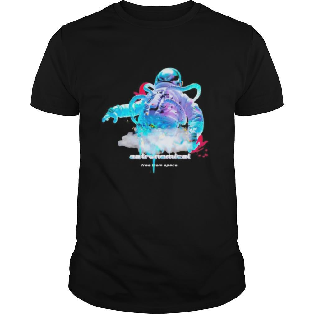 Astronaut astronomical free from space shirt Classic Men's