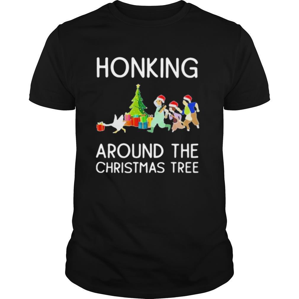 Honking Around The Christmas Tree shirt Classic Men's