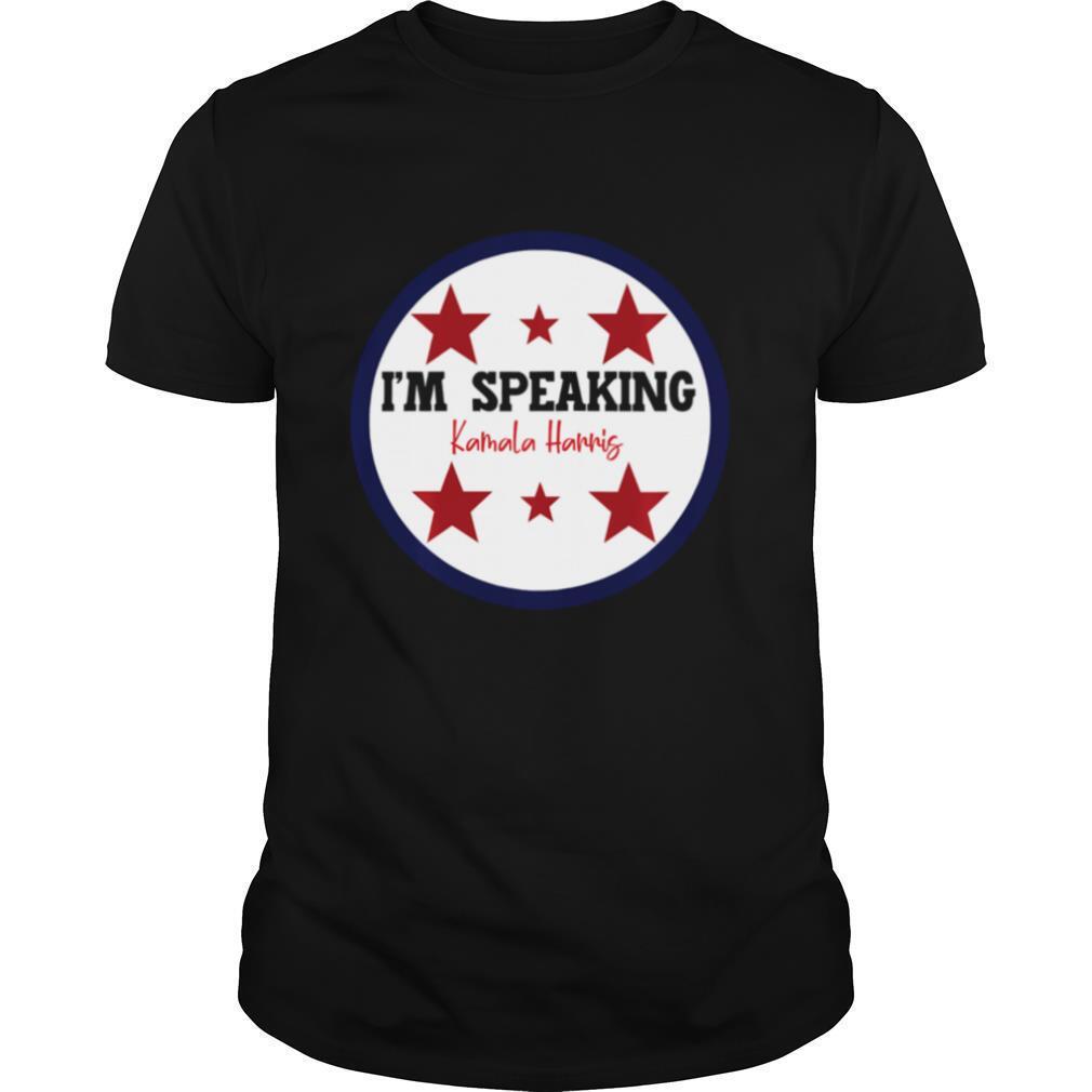 I'm Speaking Kamala Harris Mike Pence Debate shirt Classic Men's