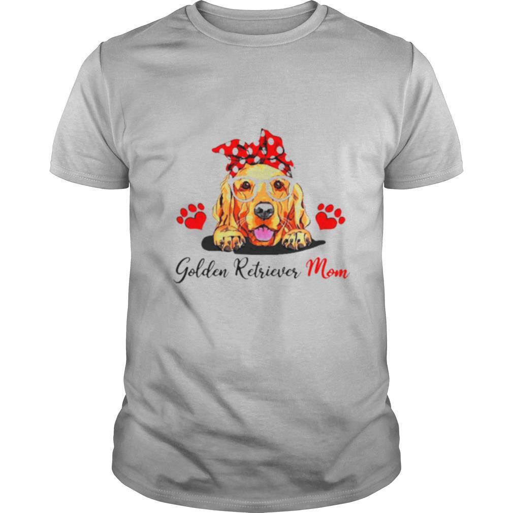 Love Golden Retriever Mom shirt Classic Men's