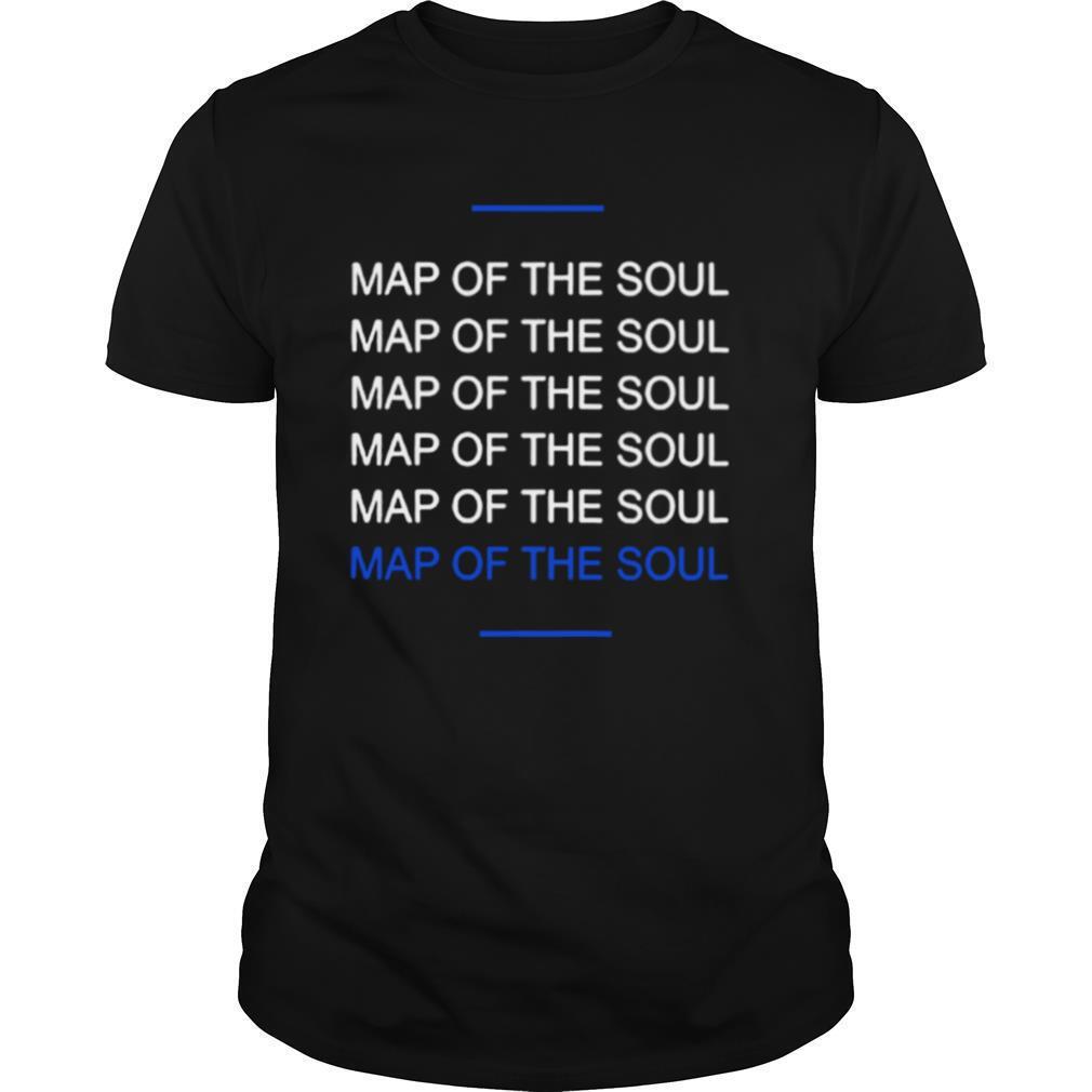 Map Of The Soul Six shirt Classic Men's