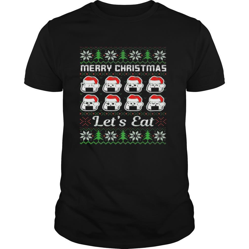 Merry Christmas Lets Cats Hat shirt Classic Men's