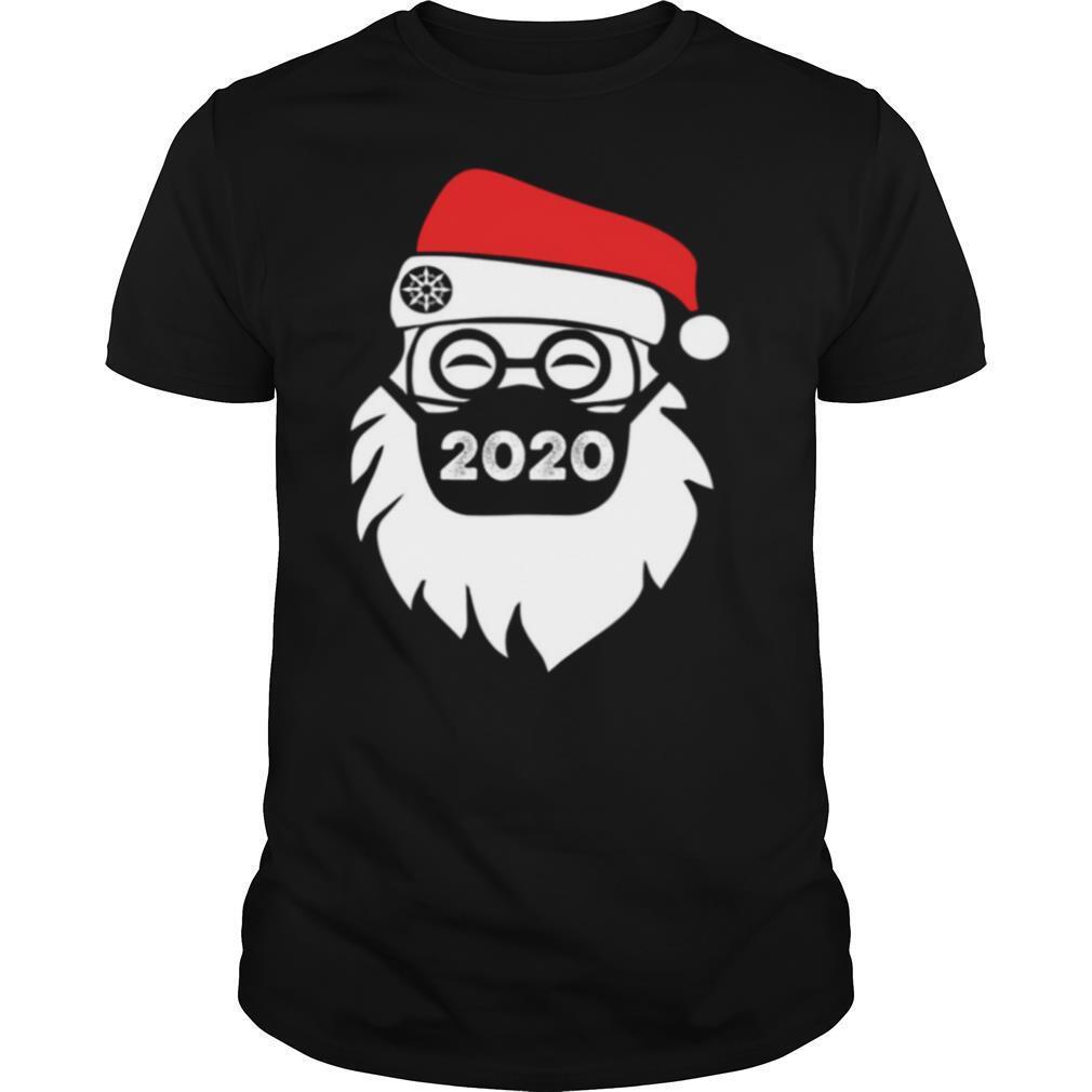 Santa Wearing Mask 2020 Christmas shirt Classic Men's