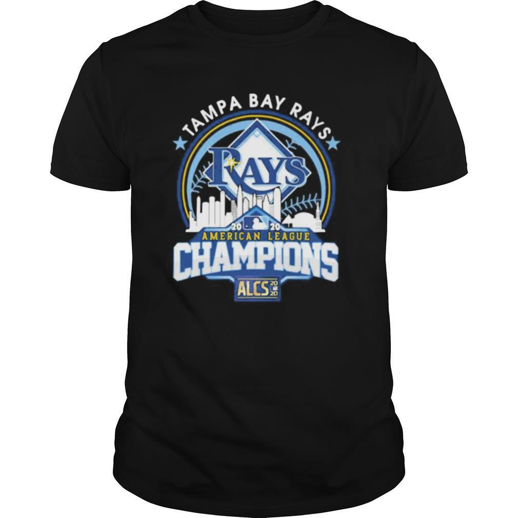 Tampa bay rays american league champions 2020 shirt Classic Men's