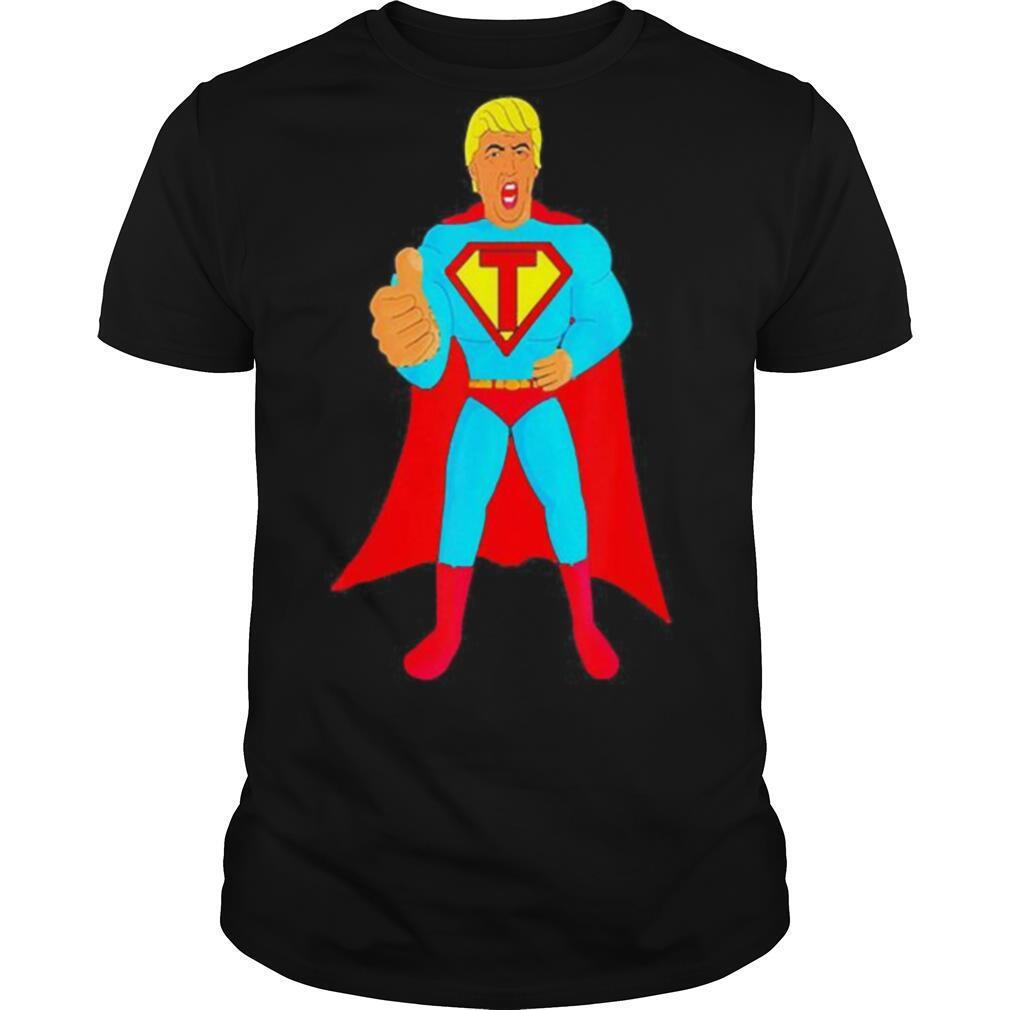 Trumpman 2020 Funny Super Gift Election Presidential 2020 shirt Classic Men's