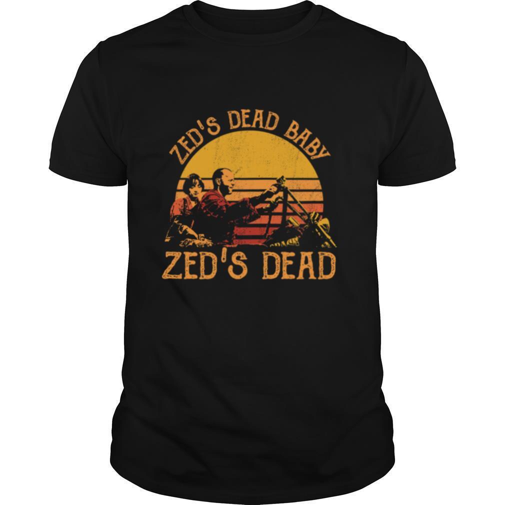 Zeds Dead Baby Zed's Dead Vintage shirt Classic Men's