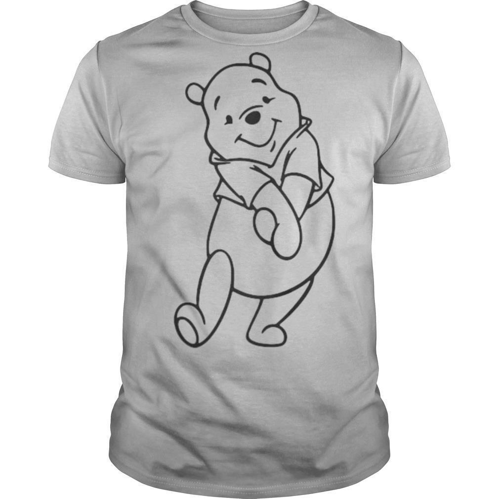 Pooh bear cartoon art shirt Classic Men's
