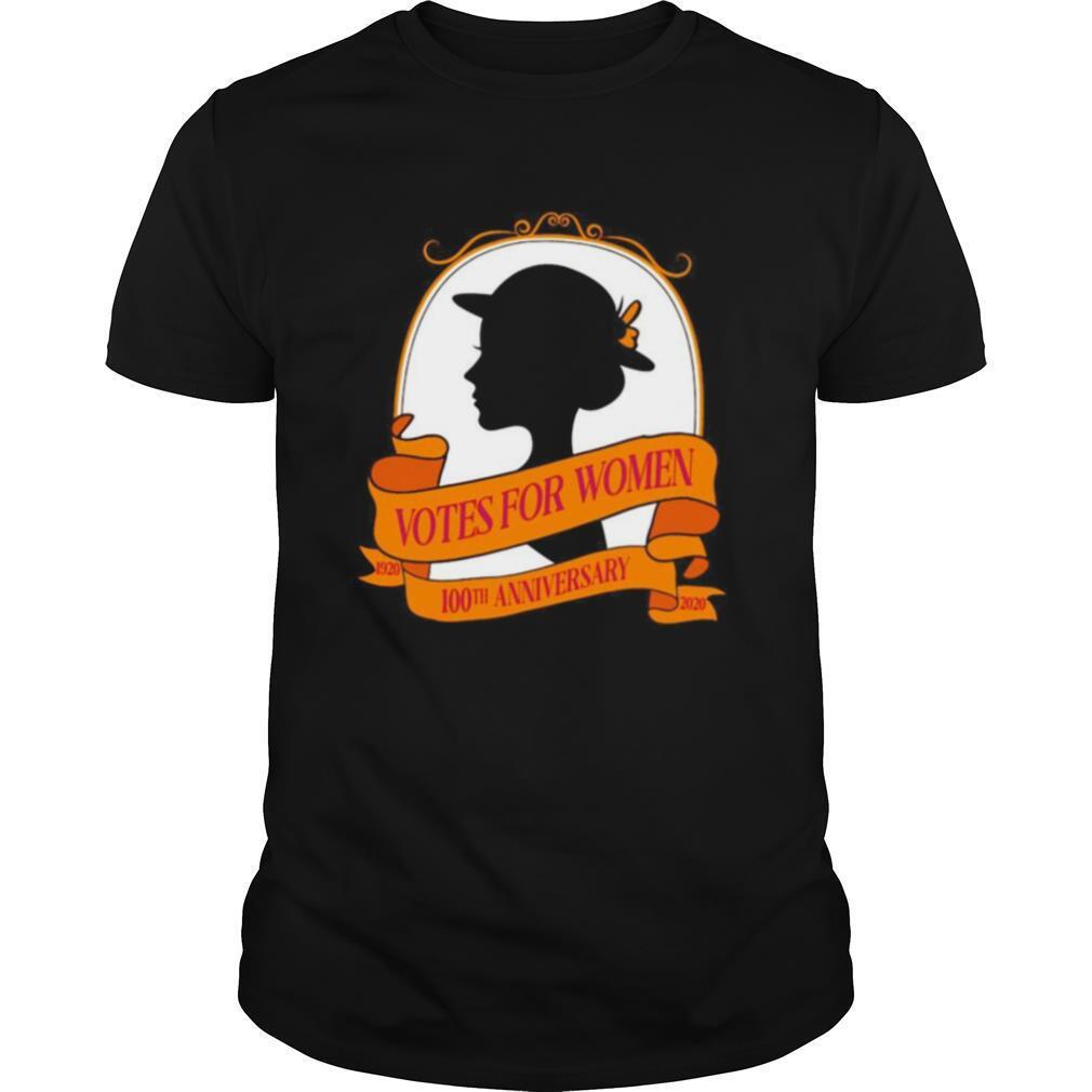 Votes for women 1920 2020 100th anniversary shirt Classic Men's