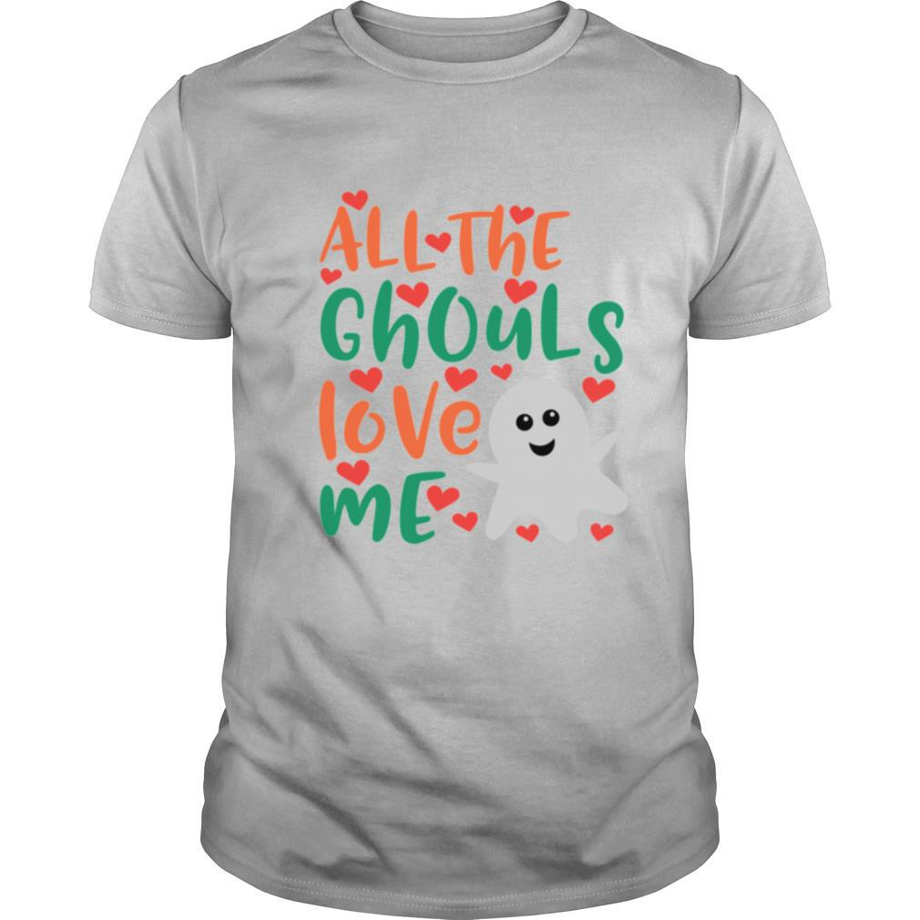 All The Cute Ghouls Love Me Halloween Day shirt Classic Men's