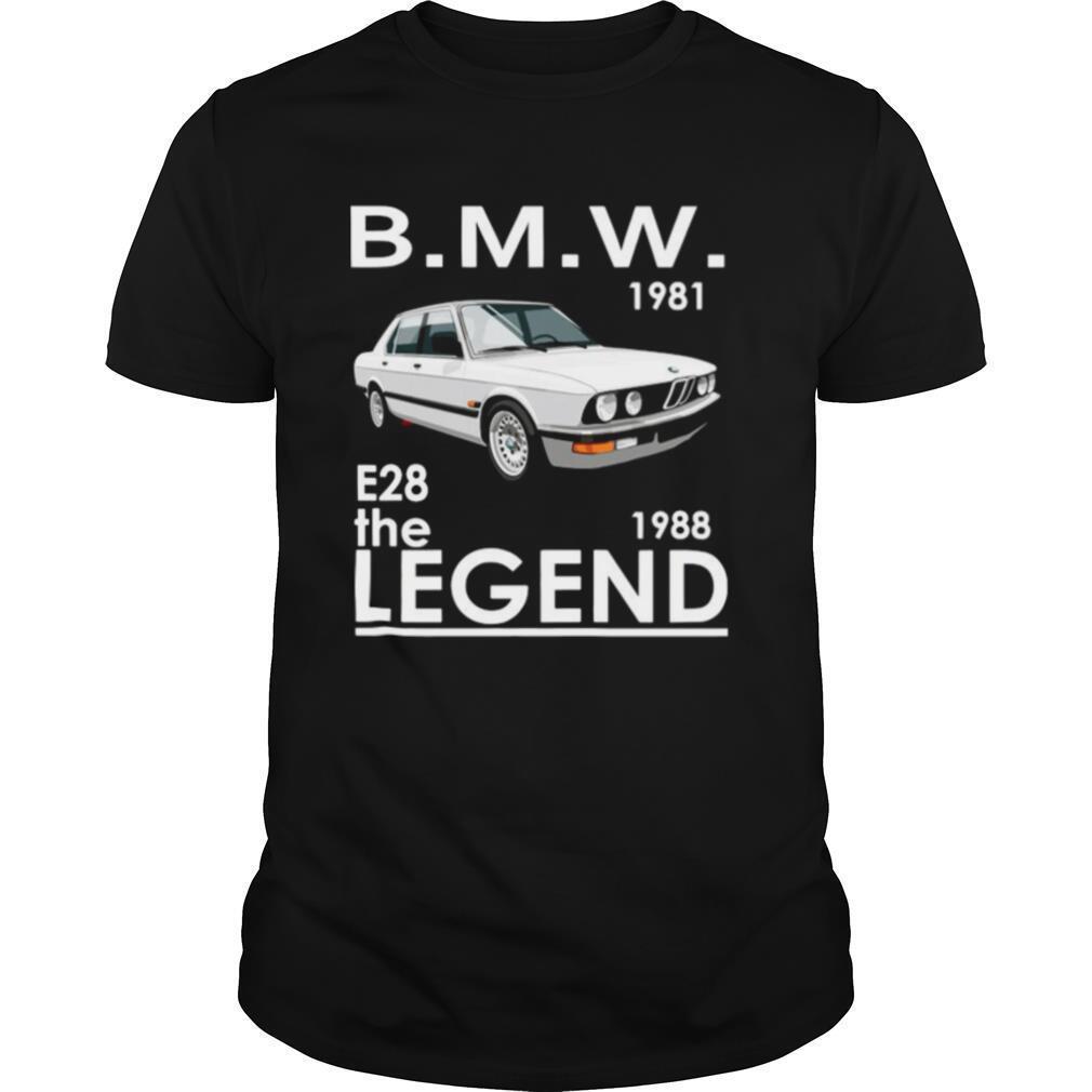 BMW 1981 E28 The 1988 Legend shirt Classic Men's