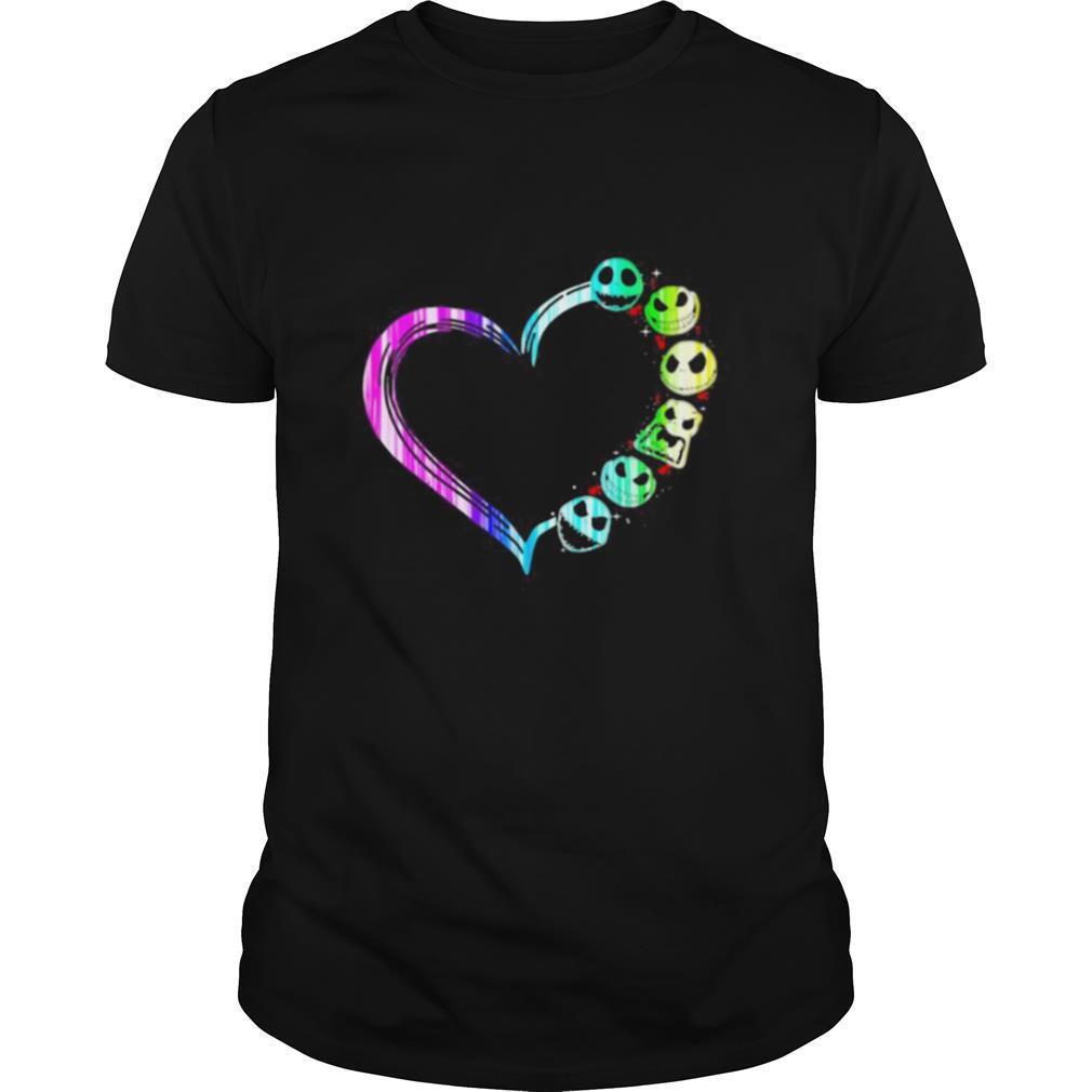 Love jack skellington hearts shirt Classic Men's