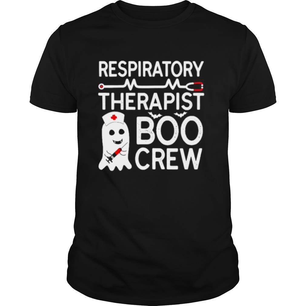 RT Halloween Gift Ghost Respiratory Therapist Boo Crew Witch shirt Classic Men's