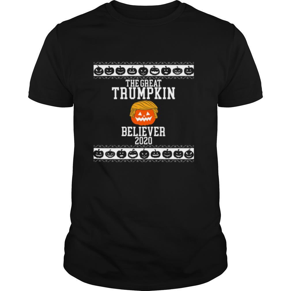 The Great Trumpkin Believer 2020 Vintage shirt Classic Men's