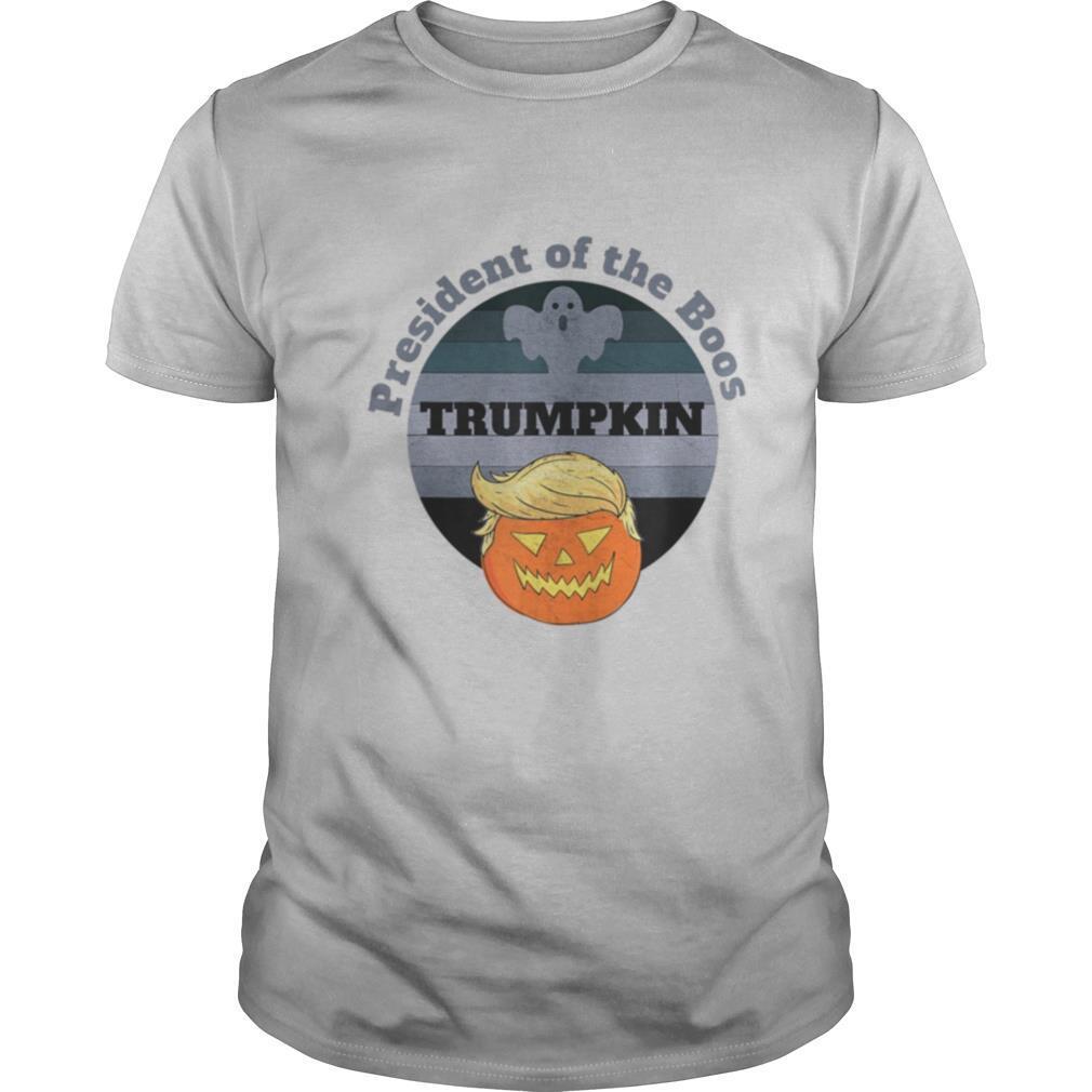 Trumpkin President Of The Boos Halloween 2020 shirt Classic Men's