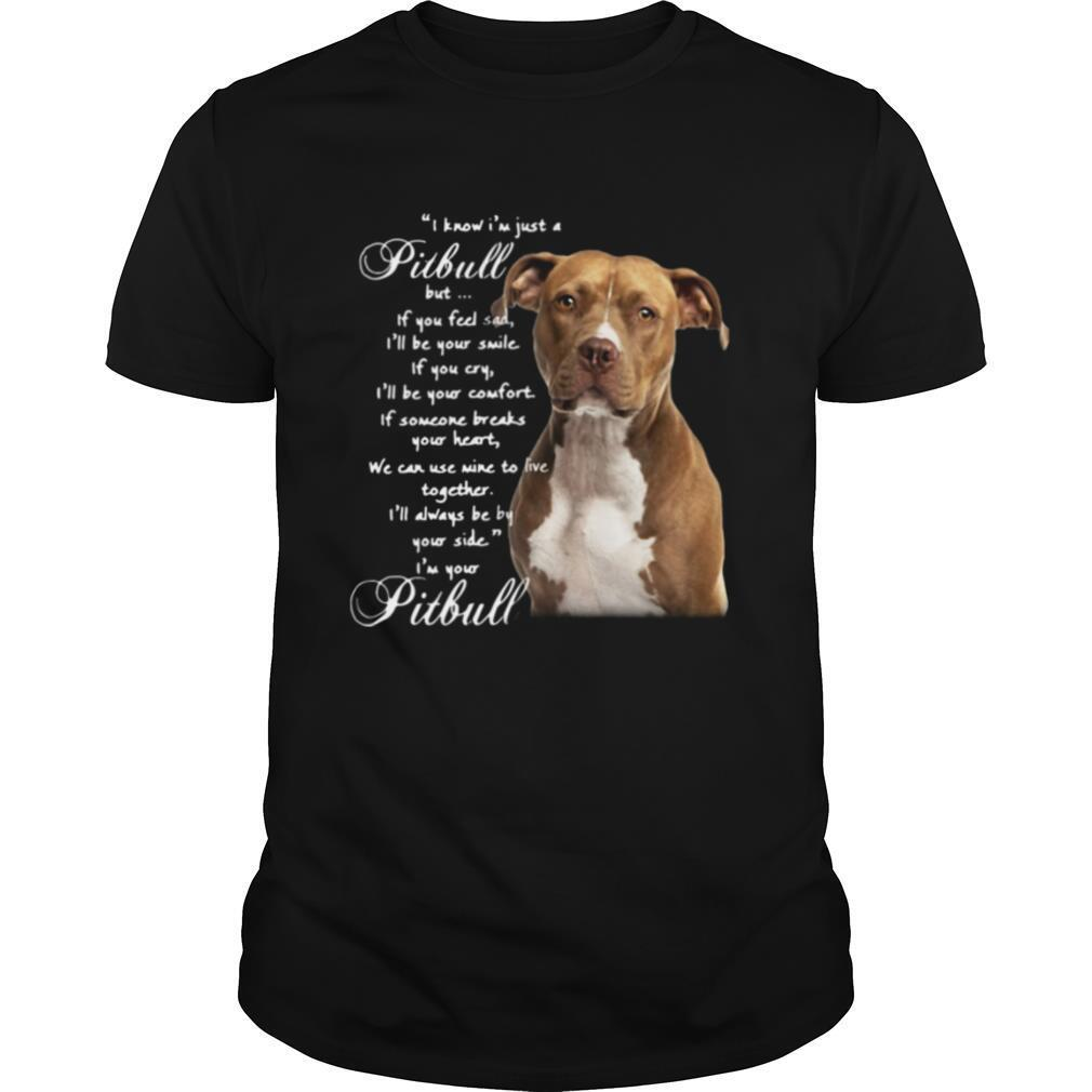 I Know I'm Just A Pitbull But If You Feel Sad I'll Be Your Smile If You Cry shirt Classic Men's