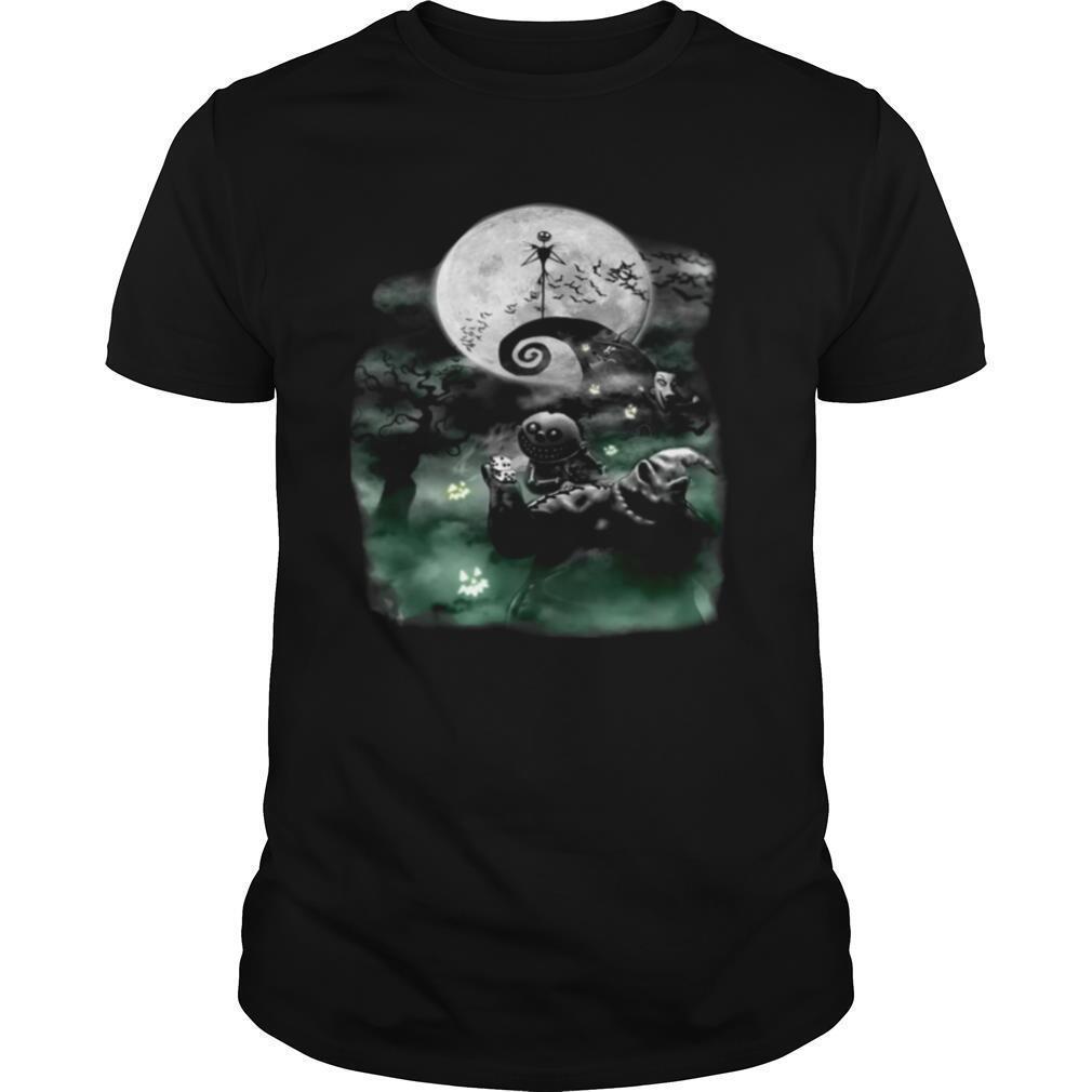 Jack Skellington Oogie Boogie and Lock Shock Halloween shirt Classic Men's