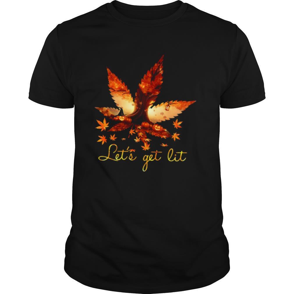 Let's Get Lit Weed Halloween shirt Classic Men's