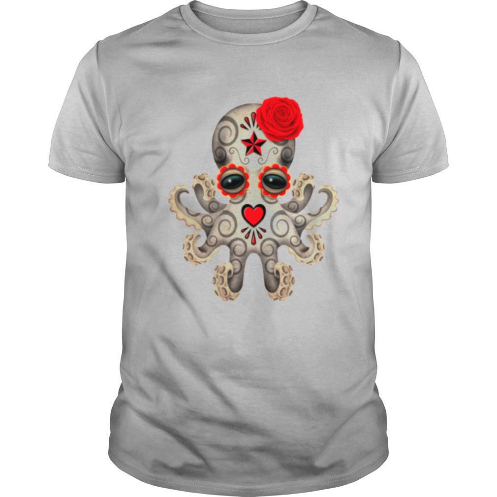 Skull Octopus Day Of The Dead Dia De Muertos shirt Classic Men's
